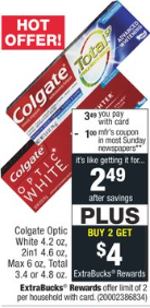 Get Colgate For 49 Each With Coupon And After Ecb Colgate