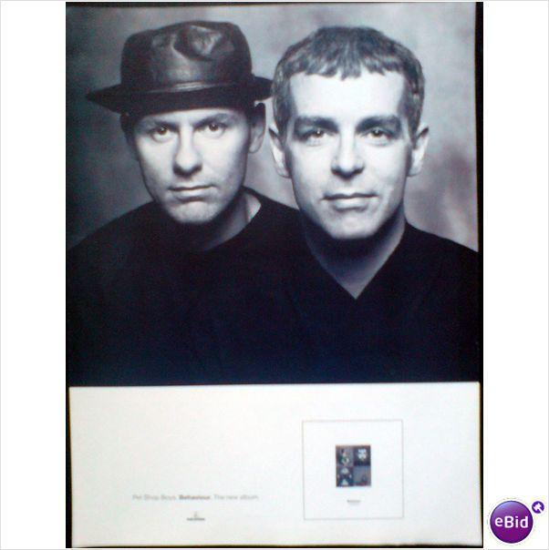 Pet Shop Boys Behaviour Album Magazine Advert 2 Pet Shop
