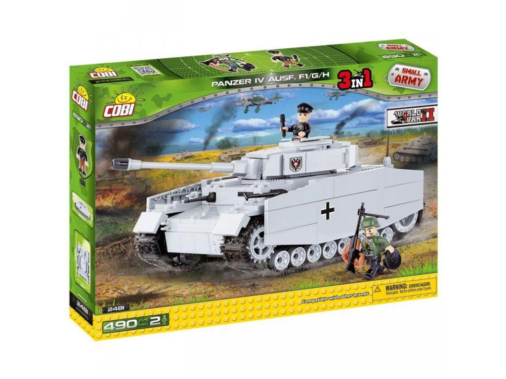 Stavebnica tanku PzKpfw IV Ausf. F/G/H