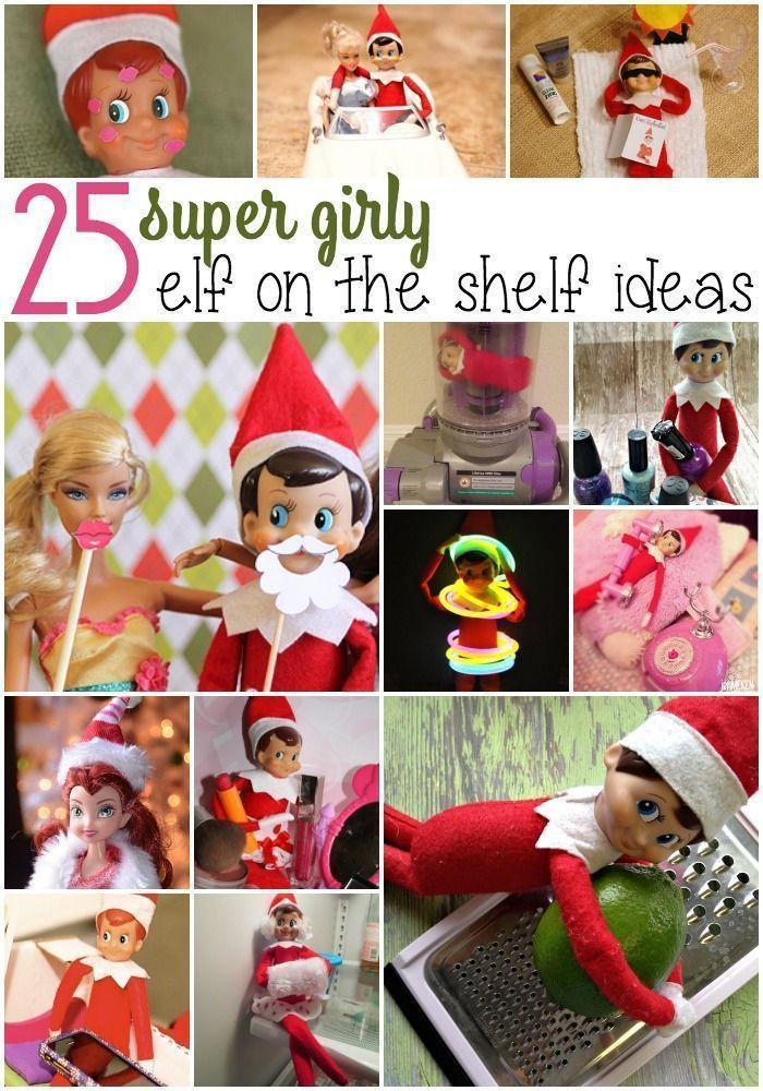 #christmas #Countdown #daughter #Elf #Fun #Shelf Elf on The Shelf is