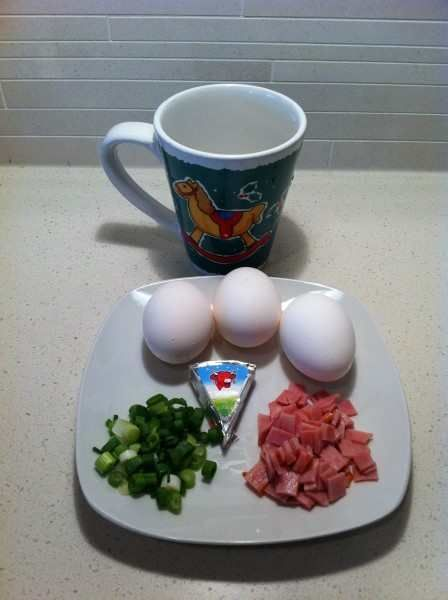 egg in a cup this recipe has it all bacon cheese egg onions