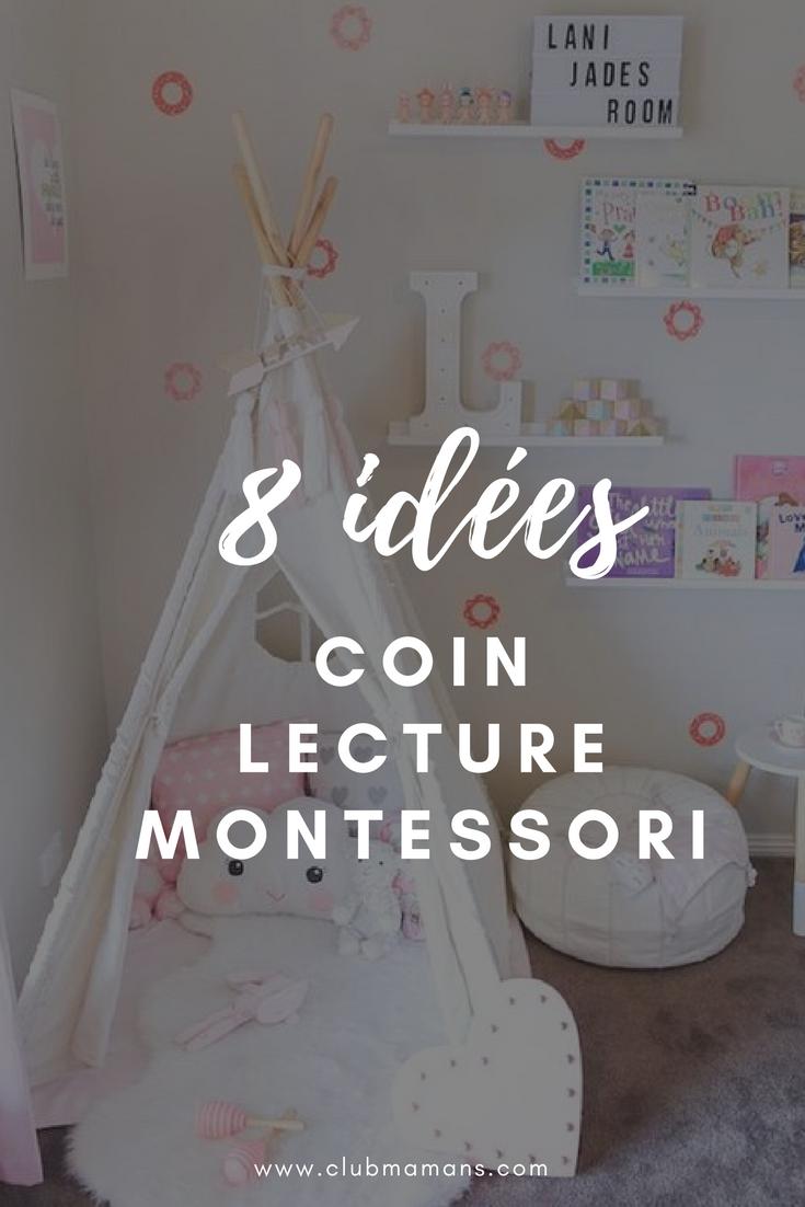 Montessori Amenager Un Coin Lecture Pour Vos Enfants Coin
