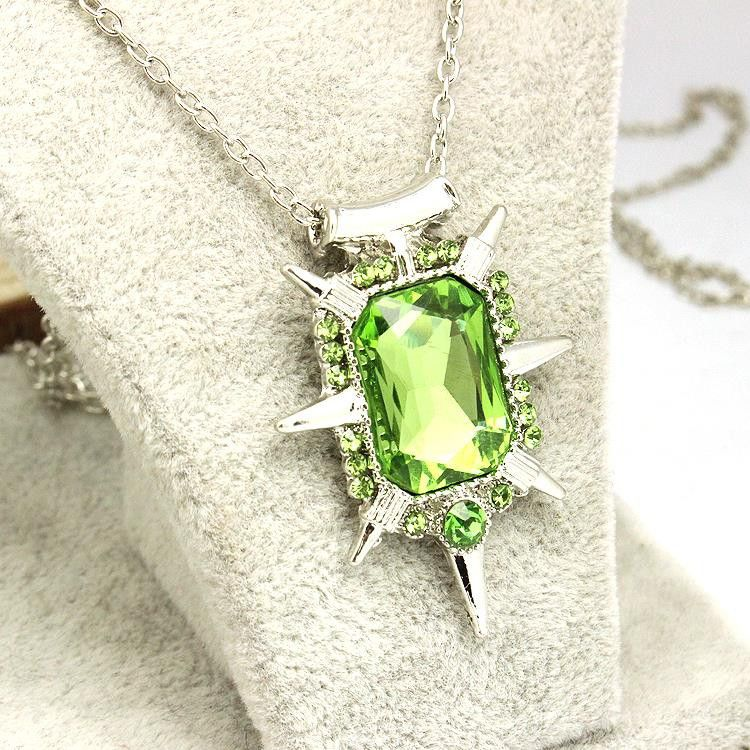 Uhren & Schmuck Once Upon A Time Wicked Witch Zelina Glinda Necklace Green Stone
