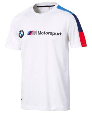 newest baf49 7ce9a Puma Men's Bmw Logo T-Shirt - White M | Products in 2019 ...