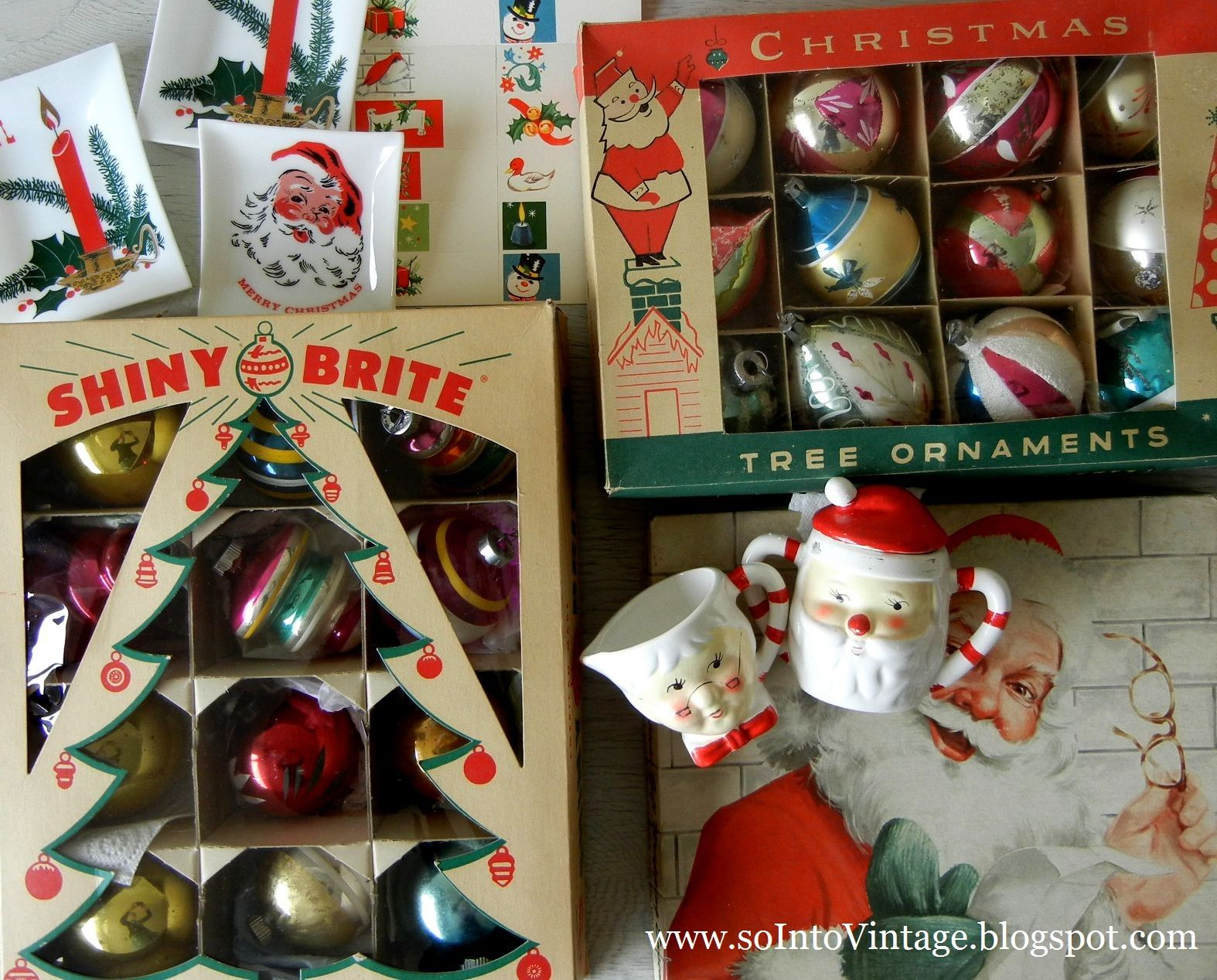 Into Vintage Vintage Inspired Christmas