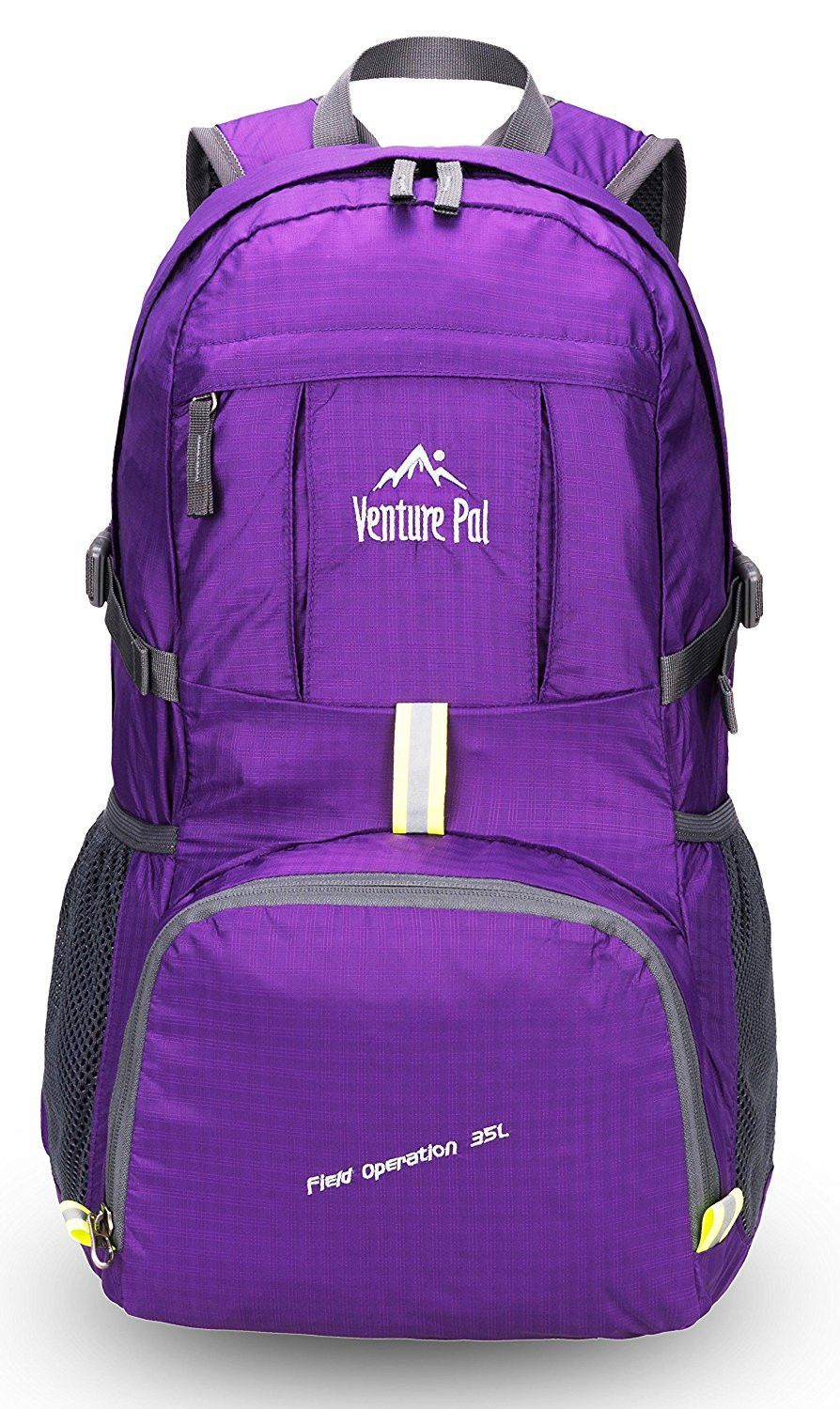 Venture Pal Lightweight Packable Durable Travel Hiking Backpack Daypack  Purple 5ee1a19b306c5