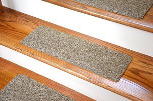 Dean Carpet Stair Treads Runners Mats Step Covers Brown Ribbed