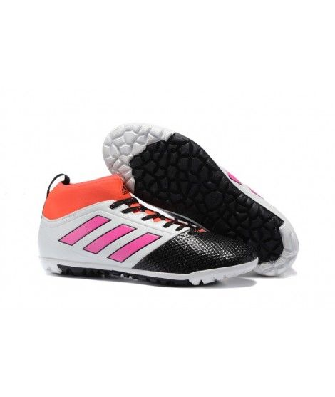 adidas ace 17.3 primemesh tf grussko for herre hvit svart rosa orange