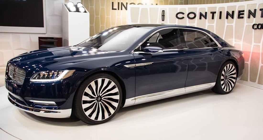 Nuevo Lincoln Continental 2017 El Retorno De Un Clásico