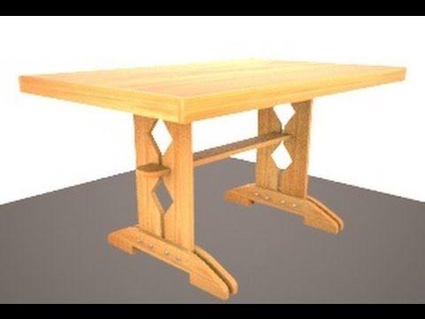Кухонные столы своими руками из дерева фото
