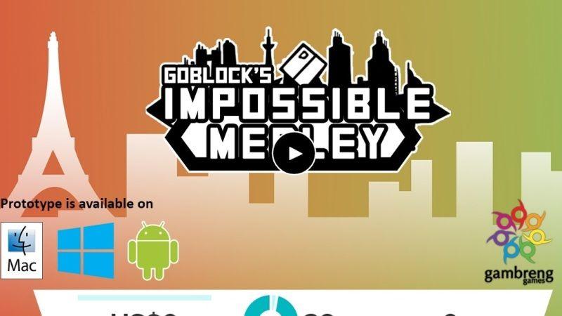 GoBlock's Impossible Medley, Proyek Perdana Gambreng Games di Jalur Crowdfunding!