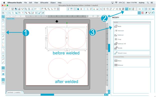 Learning the Modify Window-Software Tutorial | Silhouette | Bloglovin'