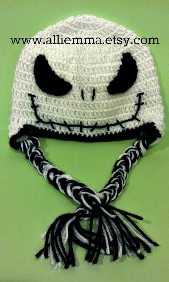 jack skellington knit hat pattern  33c066033e8