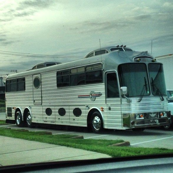 Neil Young Tour Bus