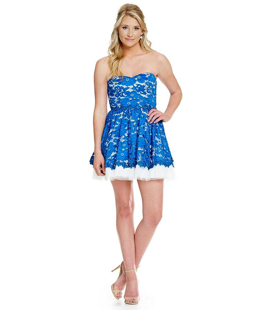 B darlin floral lace overlay party dress hoco pinterest lace