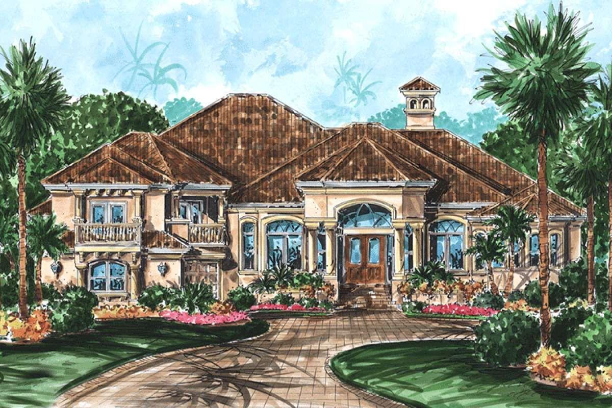 Florida House Plan 1018