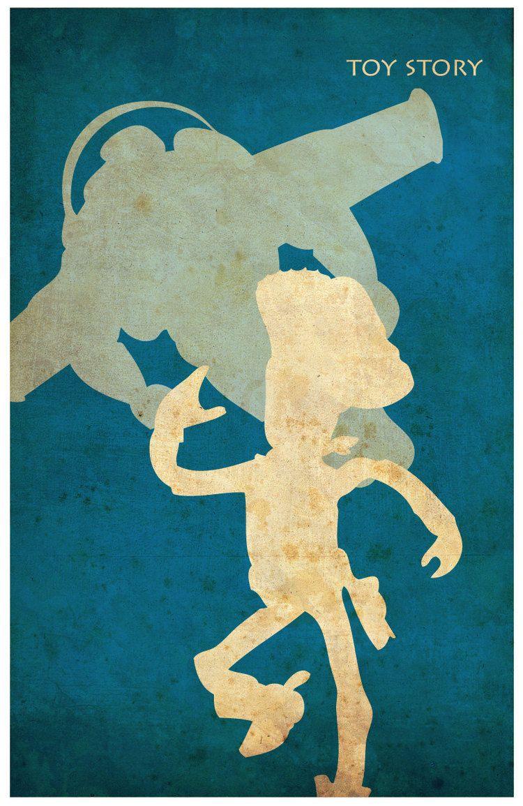 Minimalist Vintage-Style Pixar Poster Set   Pinterest   Ratatouille ...