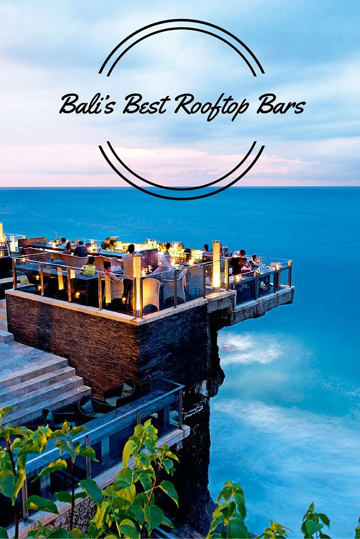 Trip Bali Combining A Great Setting Incredible Views And A Fine Selection