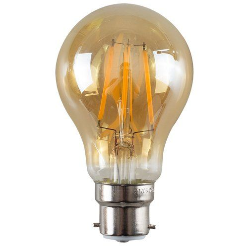 Symple Stuff Paula 4w Amber Led Vintage Filament Light Bulb Light Bulb Light Bulb Candle Dimmable Led Lights