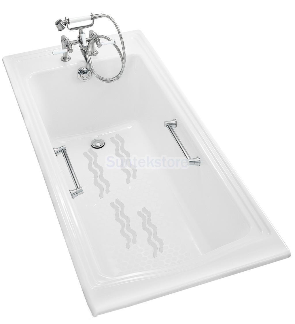 48Xanti Slip Bath Grip Stickers Non Slip Shower Strips Pad Floor Safety Tape
