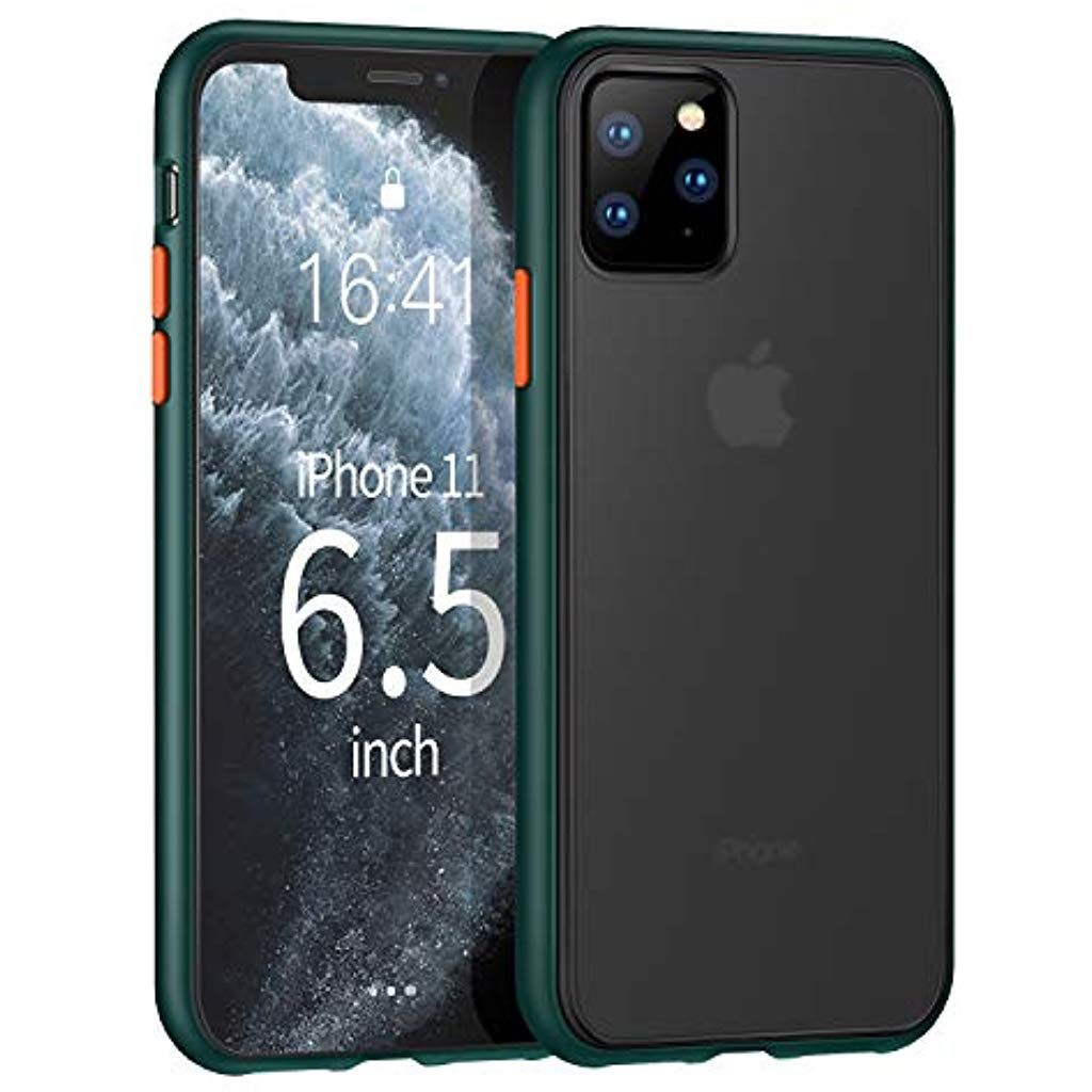 Ztotopcase For Iphone 11 Pro Max Translucent Matte Hard Pc Back