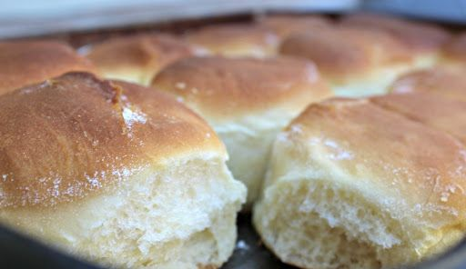 Homemade Bread Rolls Using A KitchenAid Mixer | Recipe ...