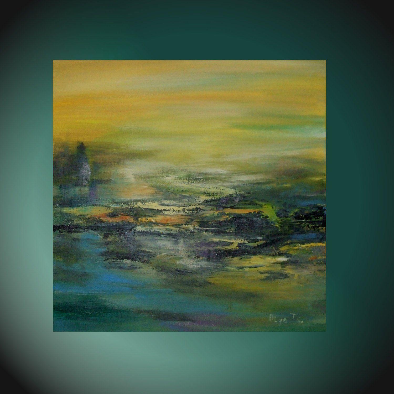 Astounding Original Art Painting Yellow Abstract Wall Art Husband T Download Free Architecture Designs Ogrambritishbridgeorg