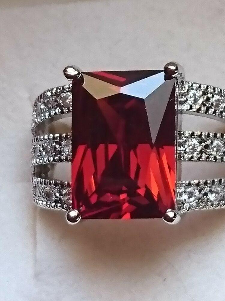 Breite Silber Ring Aus Silber 925 Mit Zirkonia Steine Gr 19 Massiv Damenring Damen Ring Ringe Silber Silber 925