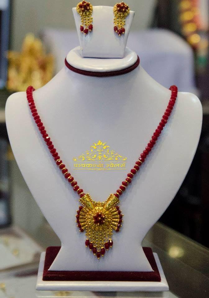 Pin by Laxmi Giri on Nepali Gold Jewelry | Pinterest | Gold ...