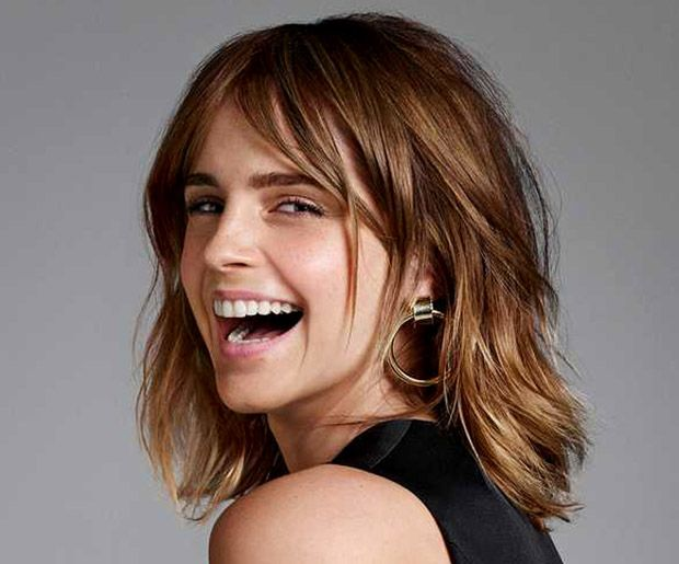 Emma Watson Medium Hair 2019