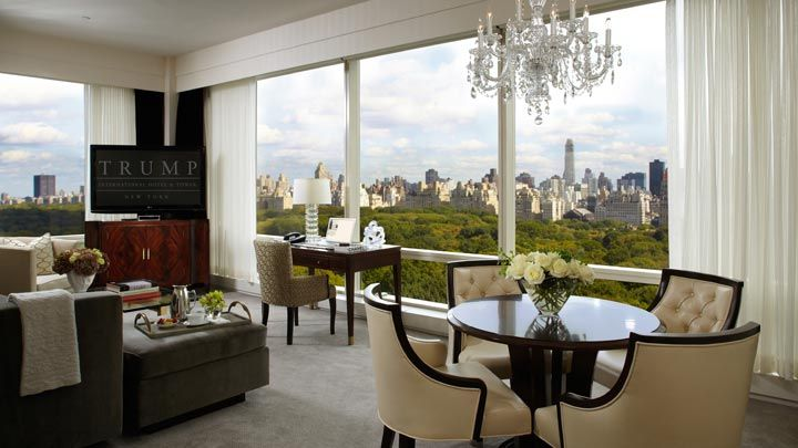 Hotel Suite Overlooking Central Park Live The Life At Trump International New