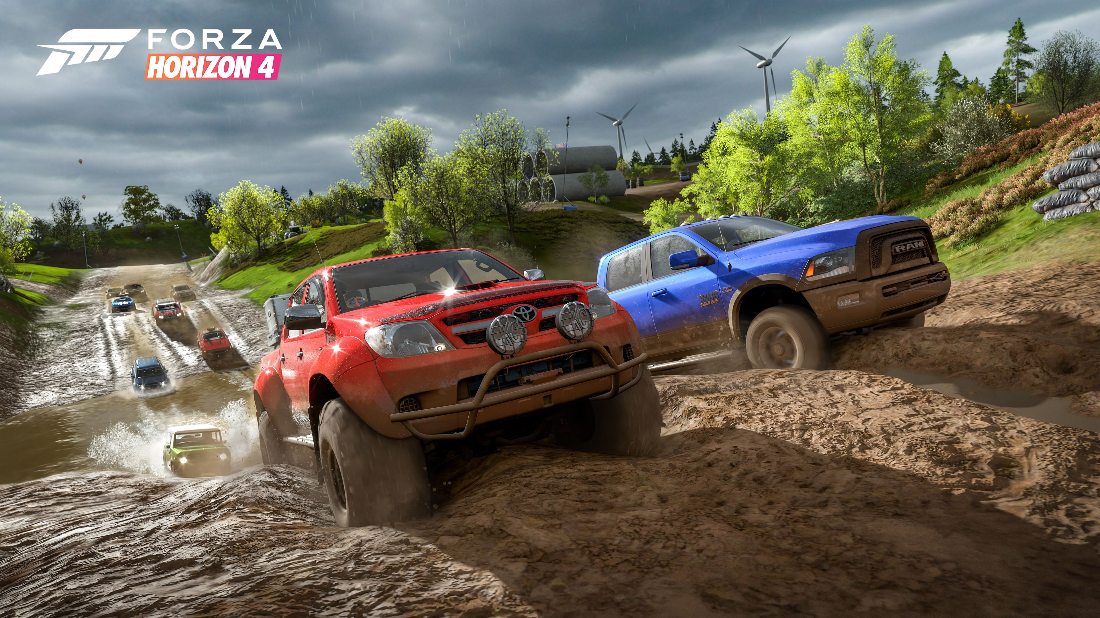 Forza horizon 4 gets first 4k screenshots and details