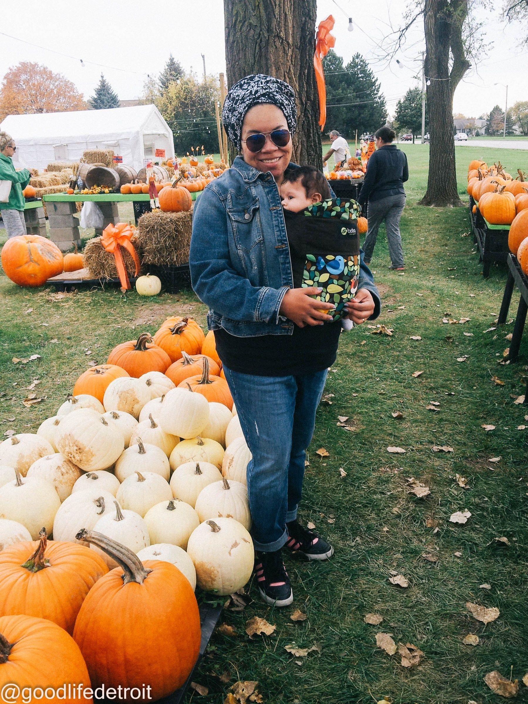Fun family visit to a metrot detroit pumpkin patch best