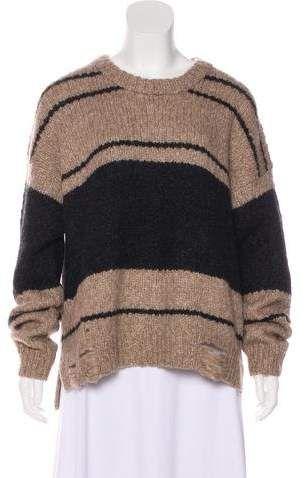 1f42290602b8 Raquel Allegra Baby Alpaca   Merino Wool-Blend Sweater