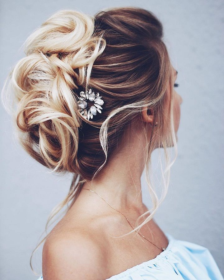 Braided Updos Wedding hairstyle | fabmood.com #weddinghair #updobraid #updos bridal hair #hairstyles #weddinghairs #weddingupdos