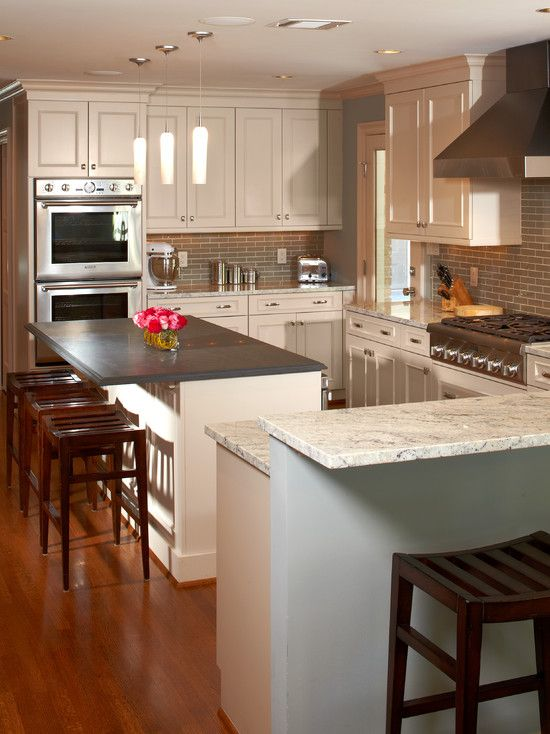 River Oaks White Kitchen by Ashley Scherch http://www.houzz.com ...