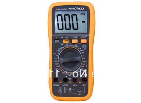 33.12$  Buy here - http://aliea1.worldwells.pw/go.php?t=32696063625 - Digital Multimeter/Victor/VC9804A+ 3/4 Auto Range Temperature Test Streamline Design & Large LCD Display 33.12$
