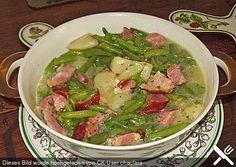 Birnen Bohnen Und Speck Vegetable Recipes And Recipes