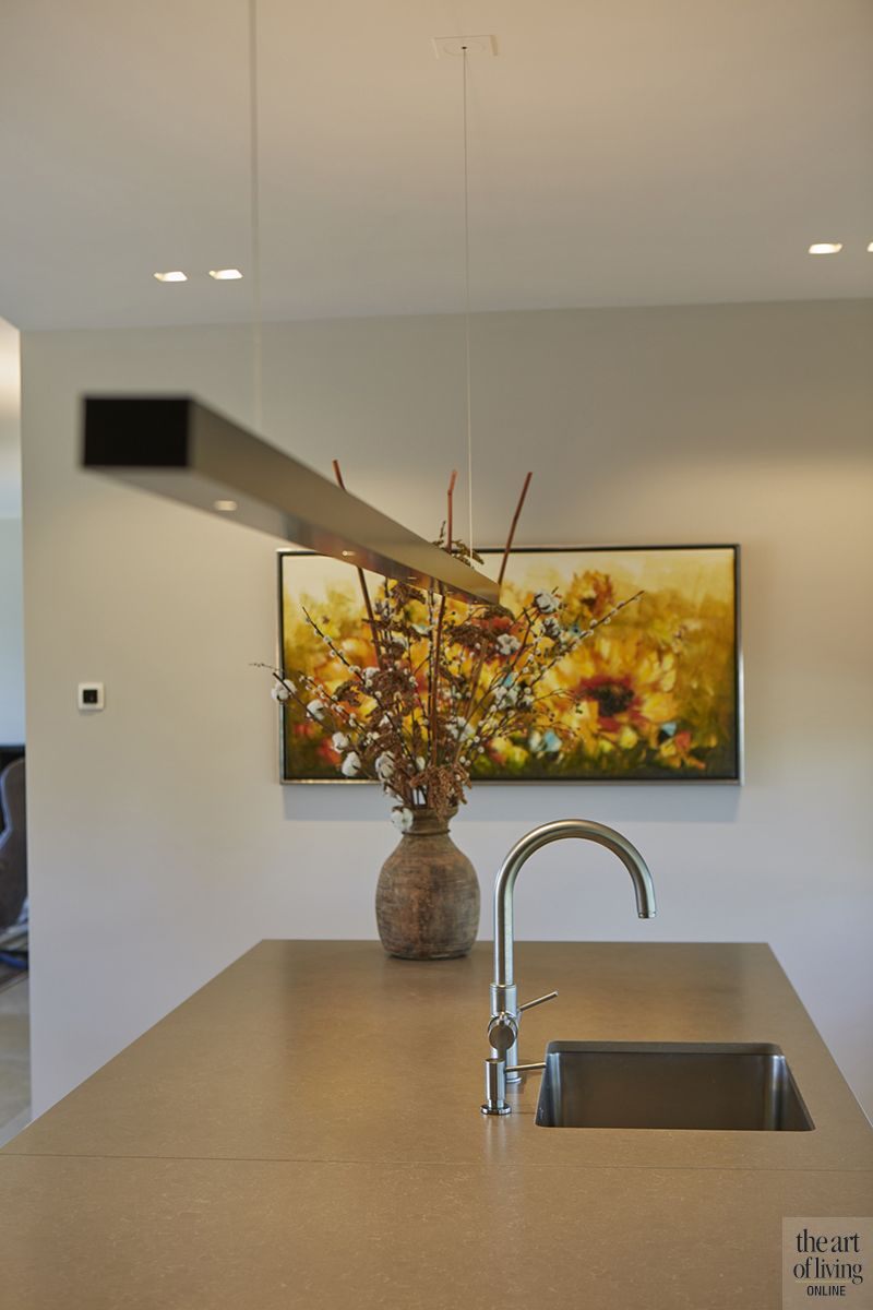 Keuken 1.50 Schuurwoning Met Raampartijen Keuken Kitchen Ceiling Lights