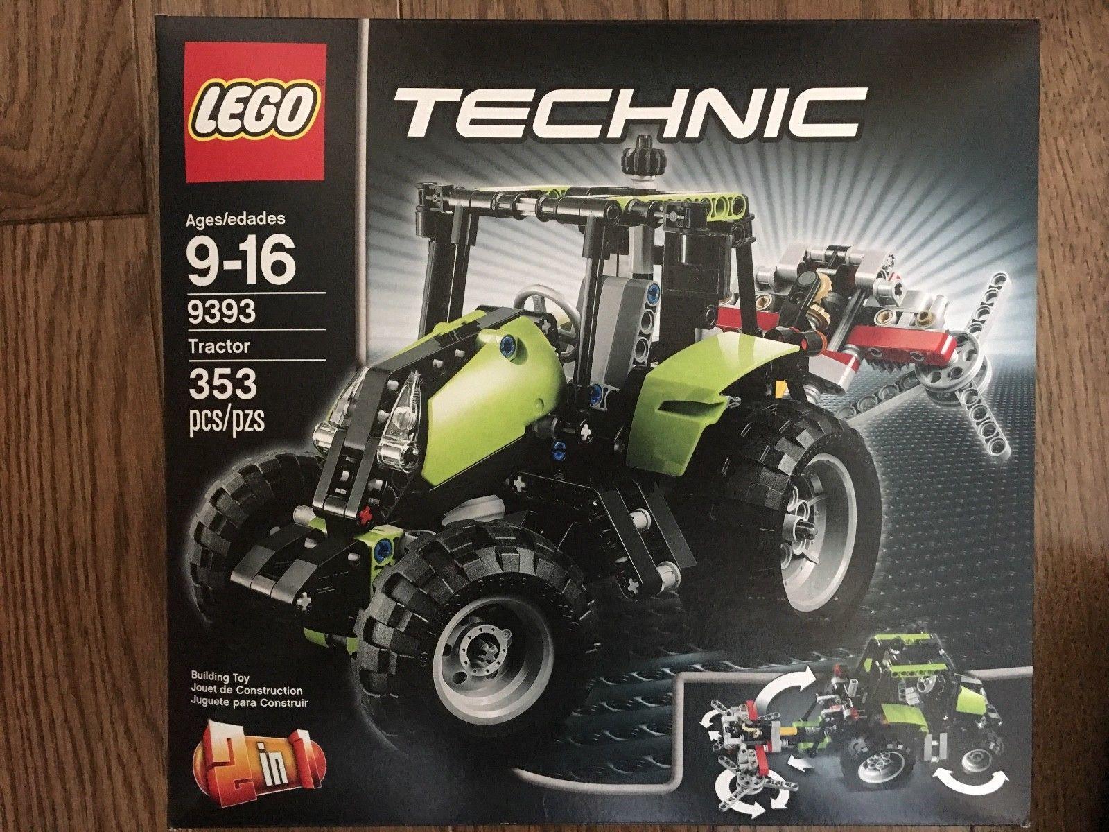 Sealed 9393 Lego Newamp; RetiredTractor Tractor zUMqVSp