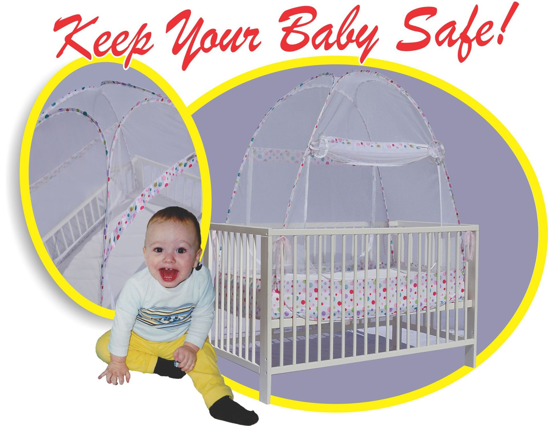 Crib Tent- Crib Pop-up Safety Net- Certified SAFE at .cribpopupsafetynet  sc 1 st  Pinterest & Crib Tent- Crib Pop-up Safety Net- Certified SAFE at www ...