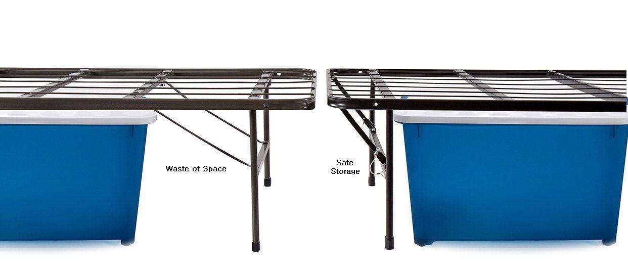 Best Amazon Com Olee Sleep Metal Platform Foundation Bed Frame 400 x 300