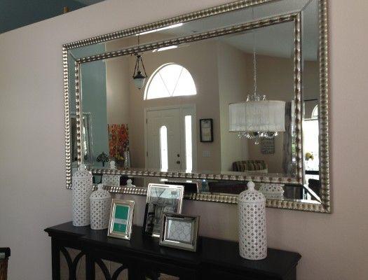 Homegoods; Mirror, Vases & Frames.
