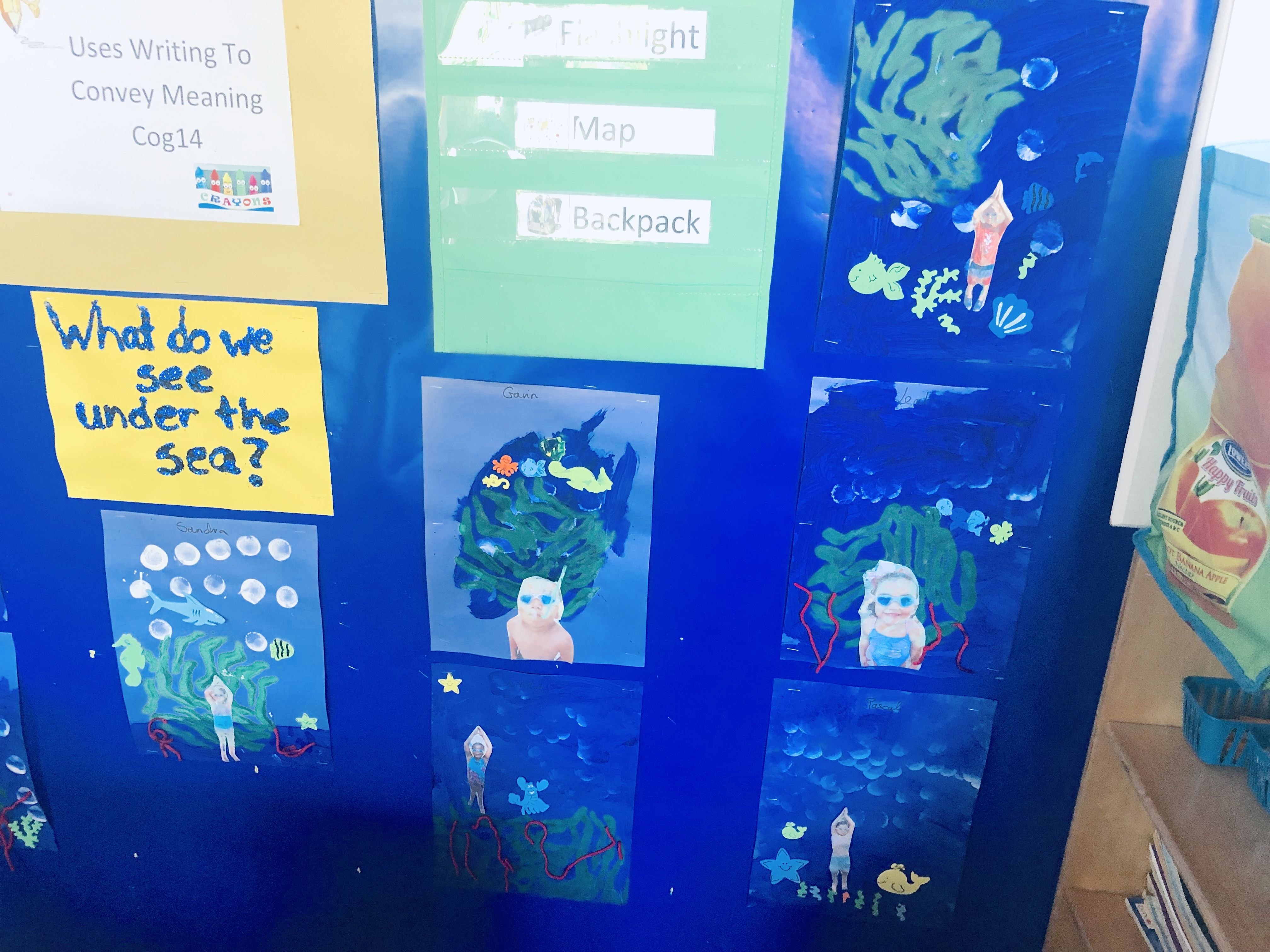 Under The Sea Project Preschool