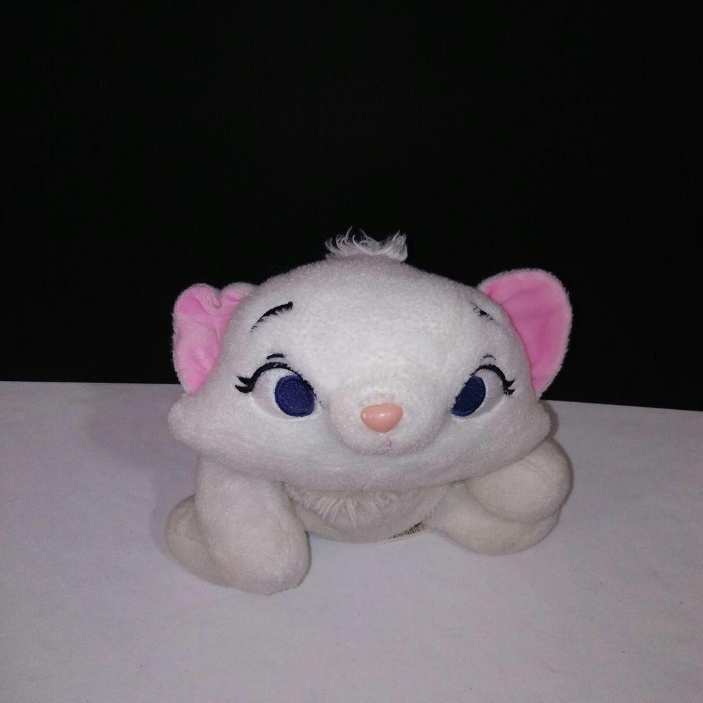 Marie Disney Aristocats White Kitten Stuffed Animal Plush 10 Disney Kitten Stuffed Animals White Kittens Cute Stuffed Animals