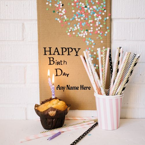 Write Name On Happy Birthday Wishes Latest Desk Card With Name Pic