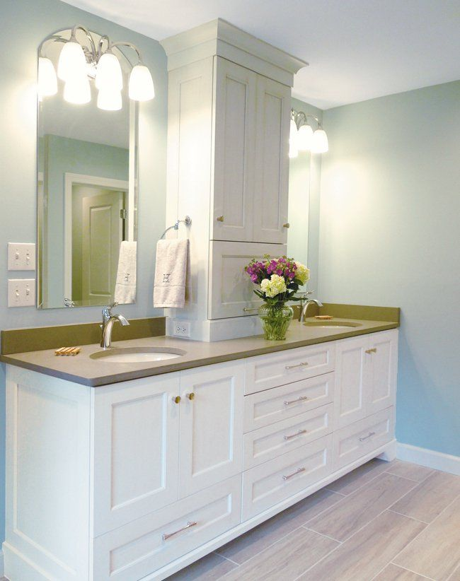 Beautiful Bathroom With Work Donecabinet Creations Design Glamorous Dayton Bathroom Remodeling Review