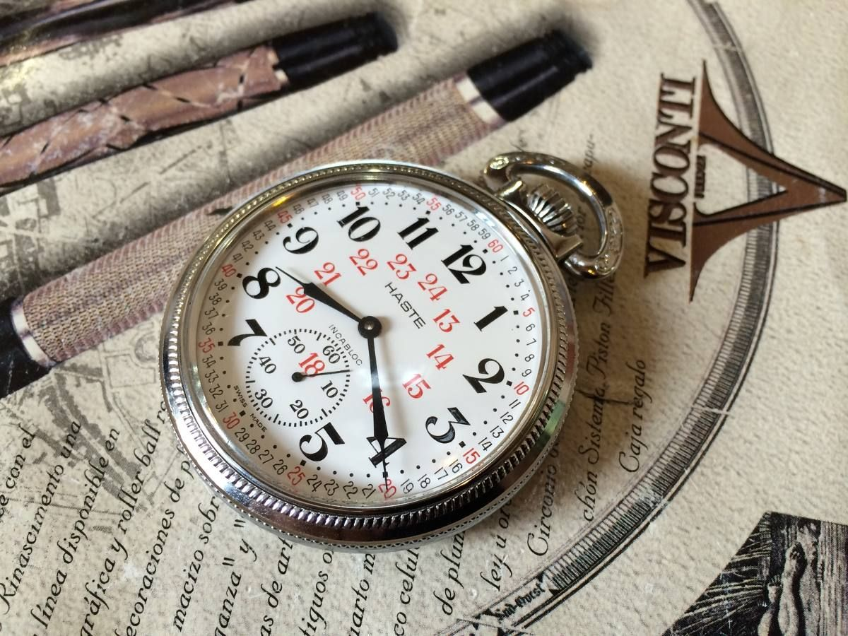 c1edf04b5 reloj de bolsillo haste ferrocarilero reglamentario | The peace ...