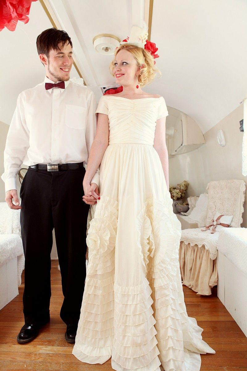 Jcrew wedding dress  Inspired by Jackie Kennedy Wedding Dress  Jackie Blue  via