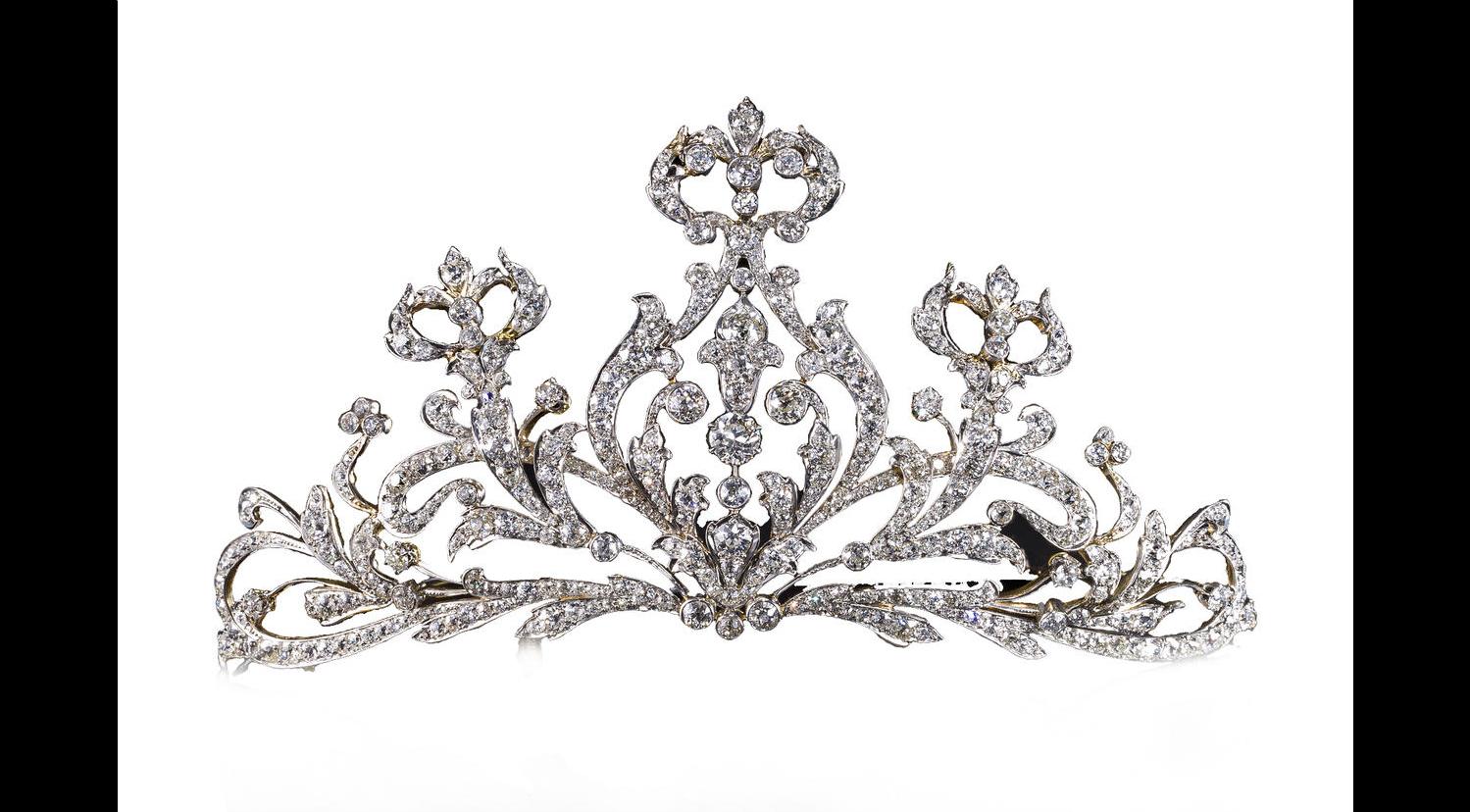 Belle Epoque Diamond Tiara